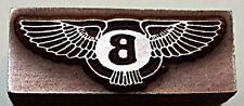 """bloque de impresión insignia Bentley"" coche."