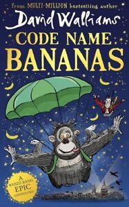 Code Name Bananas by David Walliams (NEW Hardback)