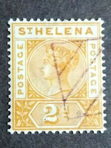 1890 St. Helena Queen Victoria 2d - 1v Used
