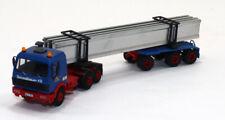 mb Built Up Kibri MB Tractor w/I Beam Trailer with load Schmidbauer KG 1/87 HO