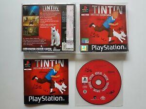 Tintin : Destino Aventura / Destination Adventure (PS1,PSX , PLAYSTATION)[*PAL*]
