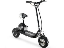 MotoTec 3-Speed 49cc 2HP 2-Stroke Gas Scooter With Seat  MT-GS3_Black #225 Rider