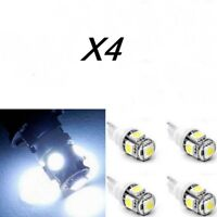 T10 Light Bulbs LED 5050 SMD 5W5, DC12V Position Registration White Cold