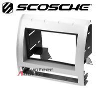 Scosche TA2053S9B Silver Double Din Radio Install Dash Kit 09-11 Toyota Tacoma