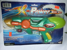 Power Water Gun Super Squirting Power Soaker Trigger Action Ages 3 & Up