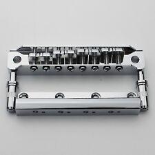 NEW 1 Set Chrome 8 String Guitar Bridge for Electric Guitar