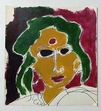 BIJAN PAUL ACRYLIC COLOUR PAINTING INDIAN MODERN /CONTEMPORARY ARTIST