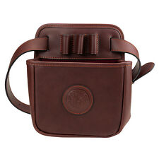 Tourbon Leather Waist Cartridge Bag Shotgun Shell Holder Shooting Pouch 12 Gauge