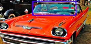 Brand New 1957 1958 1959 Chrysler DeSoto Front Windshield Rubber
