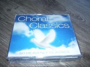 Choral Classics 50 Heavenly Classics *  4 CD BOX Religious 2 Europe 2011 *