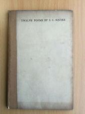 Twelve Poems - J C Squire illus. by Austin Osman Spare 1916 - Morland Press