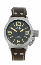 TW Steel Men's Canteen TWCS31 45mm Easy Read Dial Strap Watch