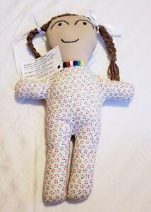 "Handmade Doll 15"" Two Side ""The Gospel Story"" Girl Stuffed Toy Religious Gift"