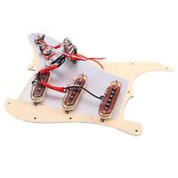 Loaded Alnico Rod Pickups Stratocaster / Strat Pickguard for Fender Strat Guitar