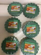 Yankee Candle Six (6) Alfresco Afternoon Tarts New! Wax Melts Free Ship Spring