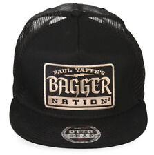 Paul Yaffe's Bagger Nation 3030 Pro Otto Snap Cap Black Baseball Style Hat