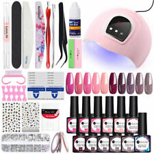 UR SUGAR Gel Nail Polish Kit LED UV Lamp 54W Dryer Nail Starter Tools DIY Set