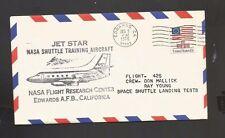 JET STAR FLIGHT 425 DEC 9, 1976 EDWARDS, CA