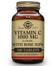 Solgar Vitamin C 1000 mg Size With Rose hips 100 Tablets