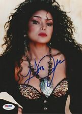 LaToya Jackson signed 8X10 PSA/DNA # Y98691