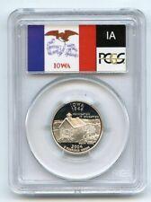 2004 S 25C Silver Iowa Quarter PCGS PR70DCAM
