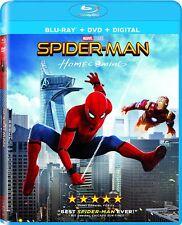 SPIDER-MAN - HOMECOMING  - Region free  - BLU RAY - Sealed