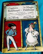 Captain Boldheart The Magic Fishbone 1st Edit. 1964 Hilary Knight Illustrations
