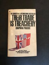 THEIR TRADE IS TREACHERY by Chapman Pincher (1982, Paperback)