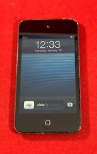 Fair iPod 4 4th Gen Touch 8GB Black MP3 A1367 MP3 Audio Music Tested