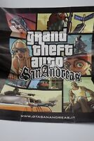 POSTER GTA SAN ANDREAS GRAND THEFT AUTO  ORIGINALE