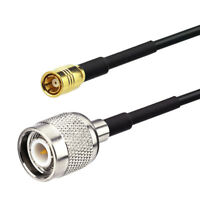 TNC Male to SMB Female Satellite Radio Antenna Cable 25ft for SRA-12/30/40