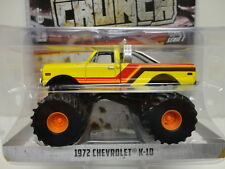 Greenlight 1972 Chevy K-10 Yellow '71 Monster Truck Kings Of Crunch Series 1
