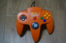 Nintendo 64 N64 Original controller Pikachu Orange Yellow Official pad mini