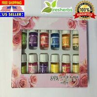 12 Bottles Set Pure Essential Oils 3ml Therapeutic Grade Aromatherapy Aromatic