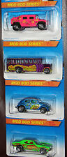 LOT OF 4 HOT WHEELS MOD BOD SERIES  Complete Set