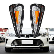 Led Daytime Running Lights Drl with Turn Signal Lamp for Toyota Camry 2015-2016