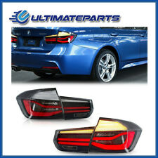 New Smoked Rear LED Tail Lights For 12-15 BMW 3 Series F35 w/ Sequential Signal