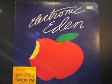The Brains LP, Electronic Eden, 1981 promo, VG+ vinyl, Mercury SRM 1 4012
