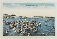 Postcard Bathing Beach Bathers Lake Calhoun Minneapolis Minnesota