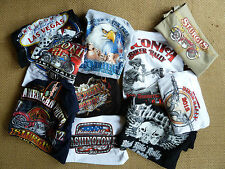 Harley Davidson USA 'T' shirts LARGE cotton(qty4 for £20) USA made+post free.