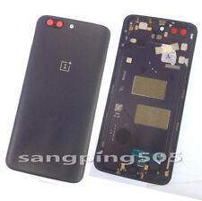 Back Battery Cover Housing Case Door+Camera Lens For OnePlus 5 Five 1+5 A5000