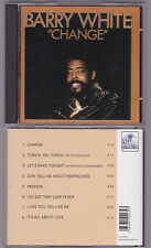 Barry White  Change Aquarius Music CD