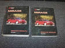 1998 Mitsubishi Mirage Sedan Workshop Shop Service Repair Manual Set DE LS 1.8L