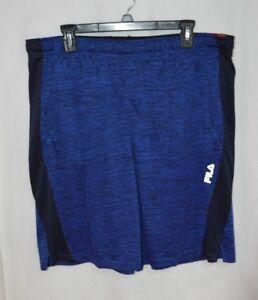 "FILA SPORT Men's Trudy Modified Blue 9"" Training Shorts  - Size XL & XXL - NWT"