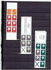 NEDERLAND Postzegelboekjes uit 1964-1966 en 1967 POSTFRIS MNH