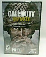 CALL OF DUTY WWII For PC Standard Edition SEALED, Download/No Disc Included