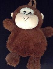 NWT Cuddle Pet Adjustable Backpack Chimpanzee Soft Plush Monkey Travel Carry-All