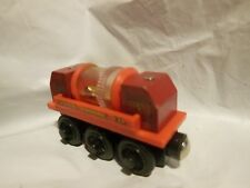 Thomas The Train Wooden Sodor Mining Co. Gold Sifting Car SPINS WHEN PUSHED
