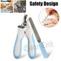 Pet Nail Toe Clippers Professional Dog Cat Trimmer with Safety Guard & Nail File