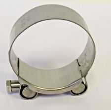 NEW 52-55 MM (2.05-2.17 IN) HEAVY DUTY 304 STAINLESS STEEL T-BOLT HOSE CLAMP NIB